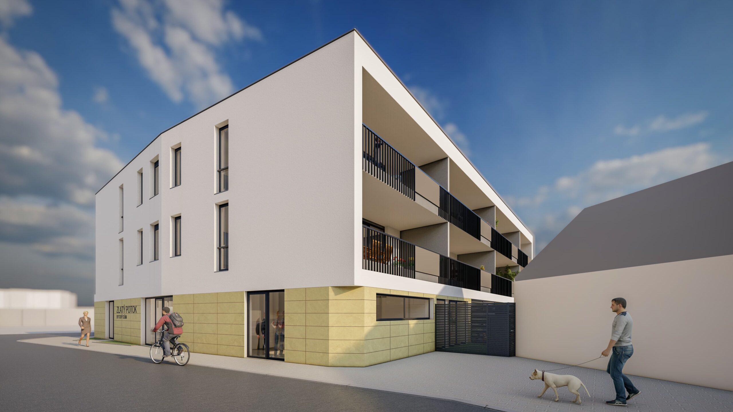 Bytový dům Zlatý potok Šlapanice Brno 4 27.4.2021 3 scaled